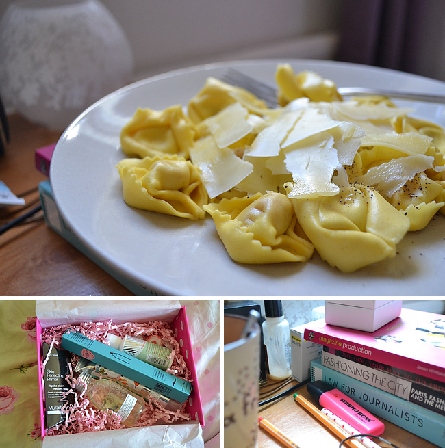 daisybutter - UK Style Blog: week in photos, student food ideas, january glossybox, university lifestyle