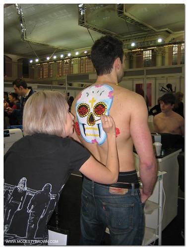 Body paint+IMATS2