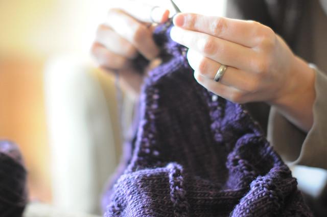 Rosary shawl