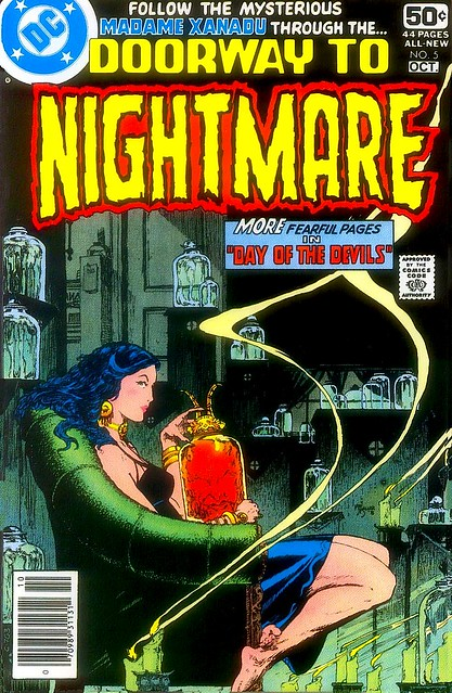 Doorway To Nightmare 5 cover by Michael Kaluta