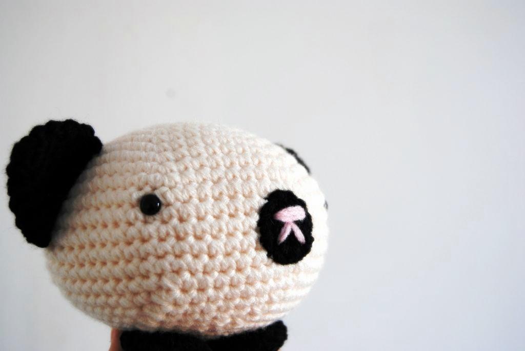 Adorable Panda Bear Amigurumi FREE Crochet Pattern   Crochet panda ...   685x1024