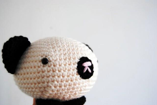 Bowl Panda Bear Amigurumi