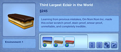 Third Largest Eclair in the World