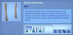 Simply Stylish Gate