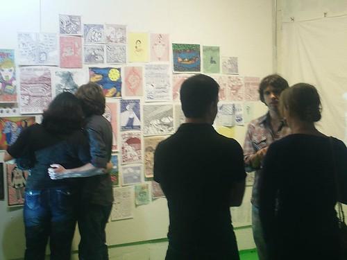 The Caroline Paquita art opening