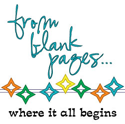 from blank pages...