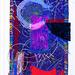 9/7/07 - 3:26 PM - Providence 6:36 by Sam Gilliam, 1999, Silkscreen, 1/50, Workshop Inc., Washington, DC