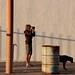 Getting the shot by tasawa69