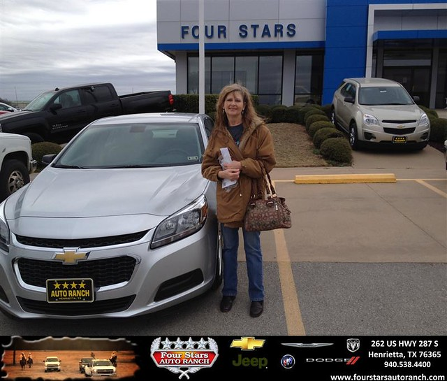 congratulations to cherry milbern on your chevrolet malibu purchase from mark havens at four. Black Bedroom Furniture Sets. Home Design Ideas