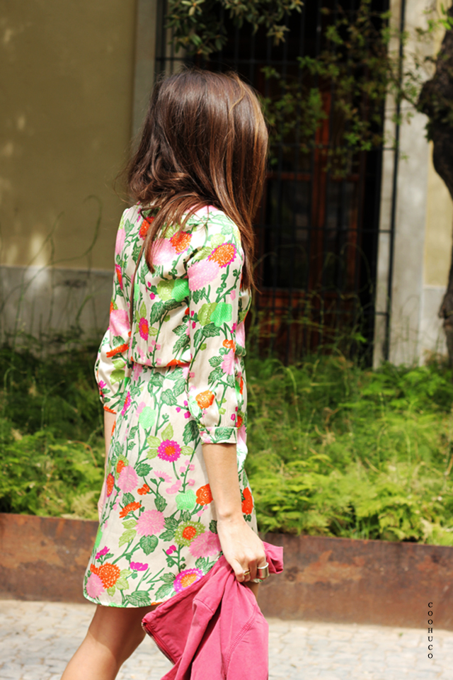 flowers dress coohuco 13