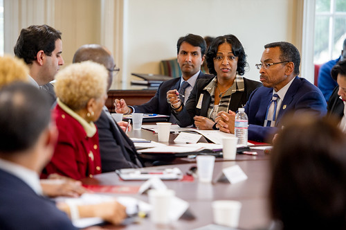 Lt. Governor Host MBE_Small Business Stakeholders Roundtable Discussion
