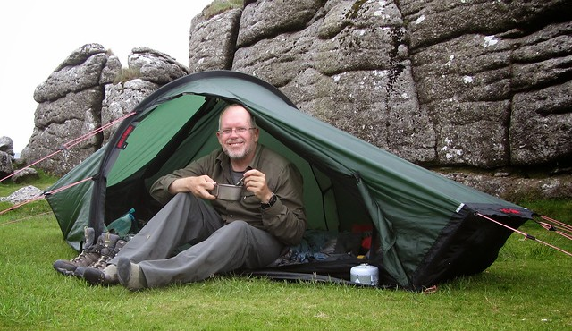 Sheeps Tor. Wildcamp.