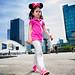 Street - Minnie Mouse Girl by François Escriva