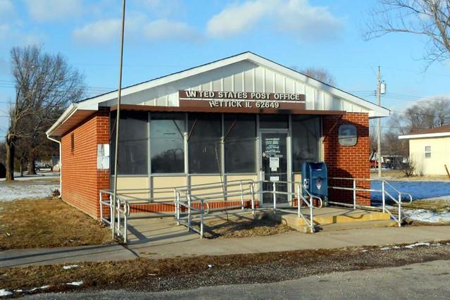 Hettick, IL post office