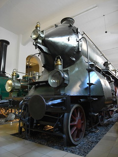 1906 streamliner at  DB Museum, Nürnberg