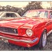 1966 Ford Mustang. by Suggsy69