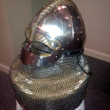 Rich's new helmet