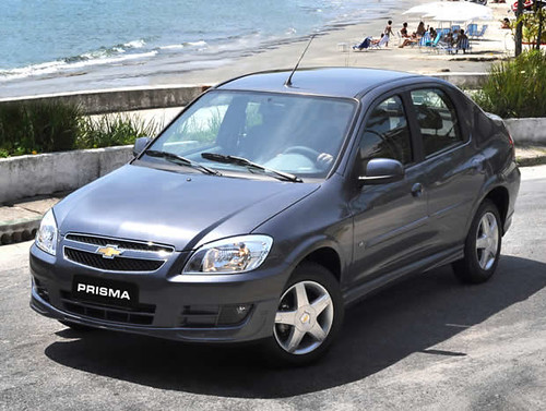 Chevrolet Prisma: Version Sedan de 4 Puertas del Celta