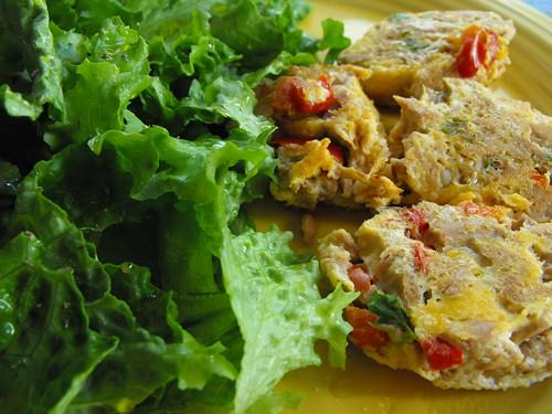 Mini-tortilhas de atum