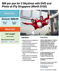 iFly Groupon Deal