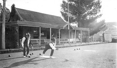 Fred May at Gawler_bowling_green_in_jacob_street_1874