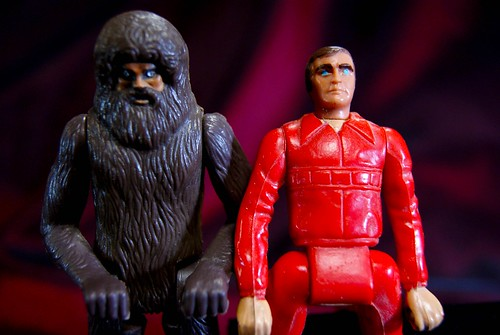 steve and bigfoot