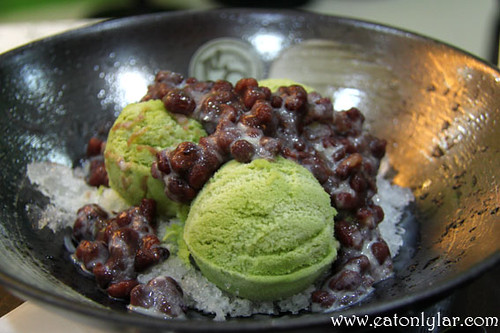 Matcha & Red Bean Milk Shaved Ice, ZenQ Desserts