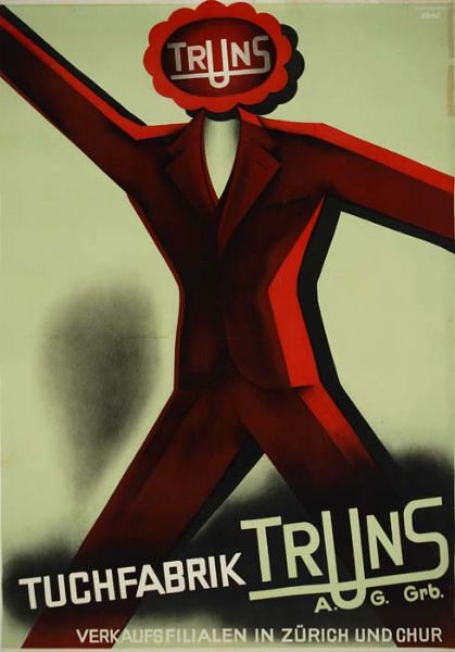 Truns poster by Franz Eberlin