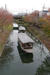 Boat in Fushimi Canal