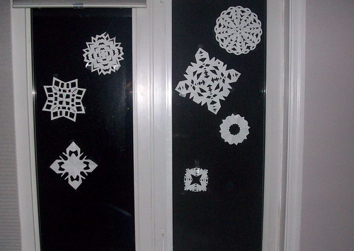christmas craft: snowflakes