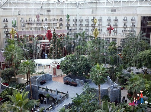 Gaylord Palms Decorated for Christmas