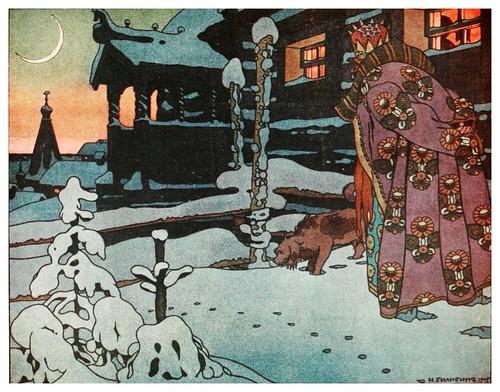 002-Tsar Saltan-Russian-wonder tales ..1912-Ivan Jakovlevich Bilibin