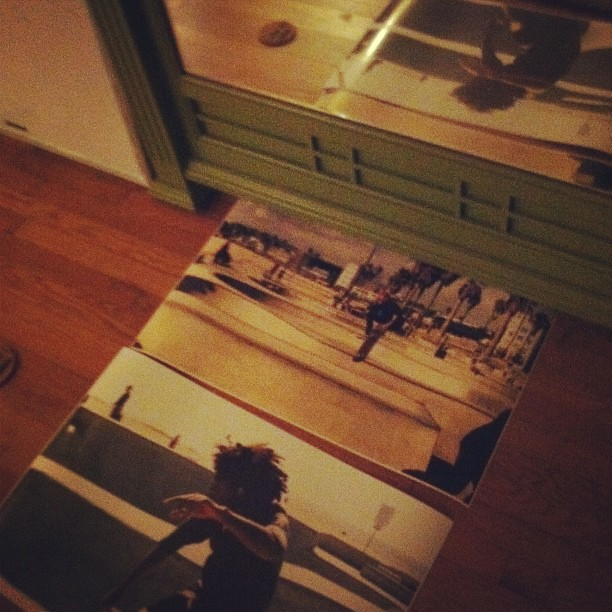 Excited about these enlarged photos from @lawrencewebb #badass #skate #california