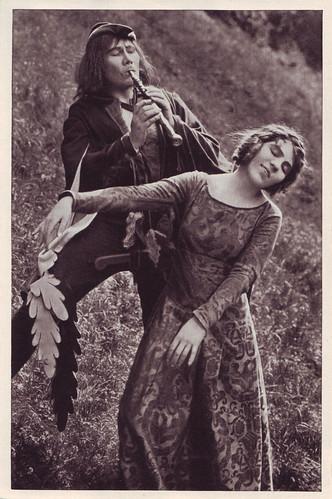 086 Paul Wegener & Lyda Salmonova_Cigaretten Bilderdienst Altona-Bahrenfeld (Vom Werden deutscher Filmkunst. Der Stümme Film; 86)