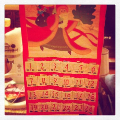 Activities loaded + ready to go :) #adventcalendar