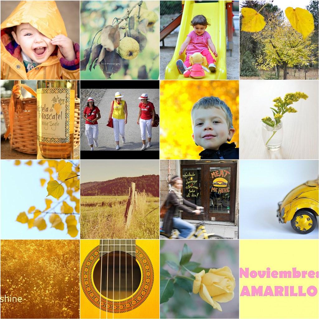 Mosaico noviembre amarillo