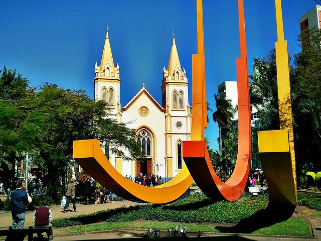 Praça da Matriz, por Wilson Pauleto