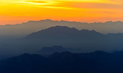 The View From Kitt Peak At Sunset #2