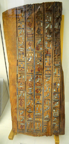 A Fragment Of Djedthotiuefankh's Sarcophagus Lid [Turin - 28 October 2011]