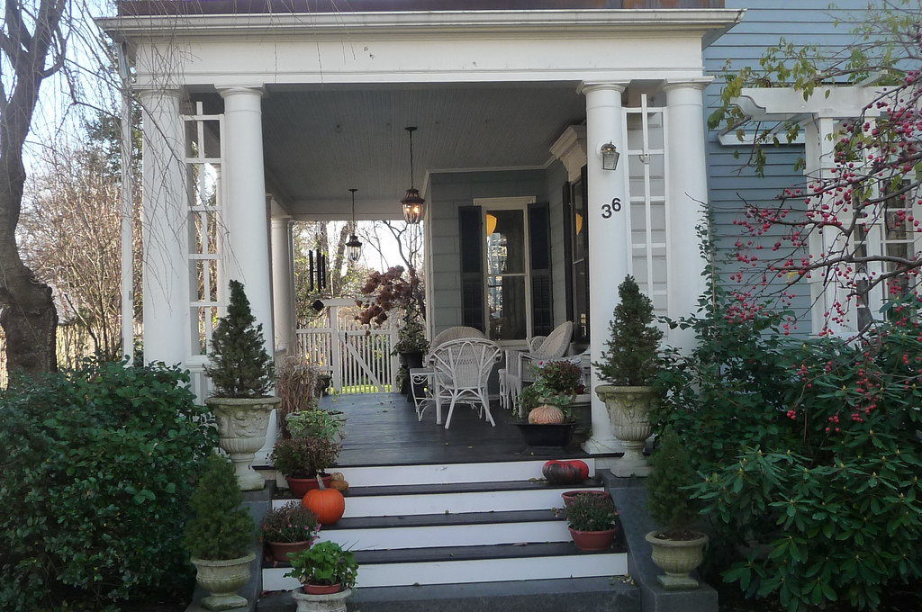 Larchwood - Covered porch, Cambridge, MA