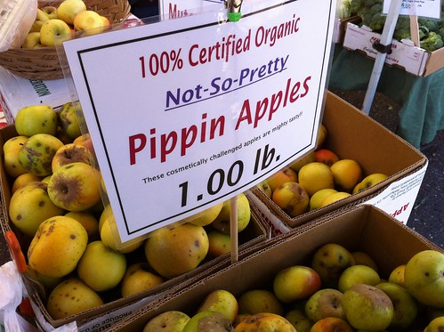 """Cosmetically Challenged"" Pippin Apples"