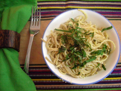 The Pasta Man - Secret ingredient: Meyer lemon, basil and ricotta...