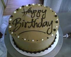 M S Bespoke Birthday Cake