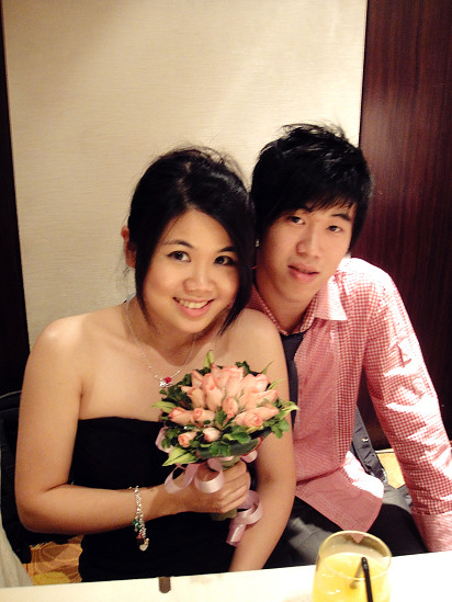 Sis's Wedding Day at Eastin Hotel
