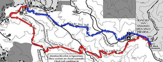 Monte Bello map