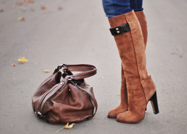 knee high boots-brown suede boots-guillaume hinfray boots