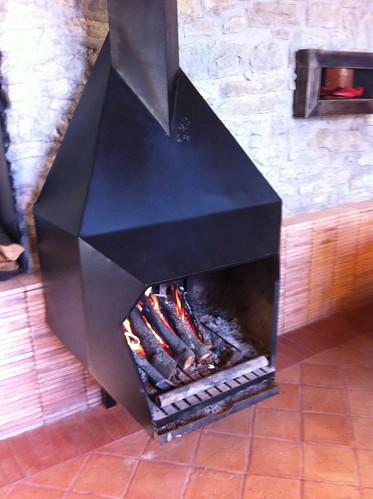 Cantonigròs | Ca l'Ignasi | Fuego a tierra