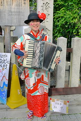 Taishogun Shrine Musician