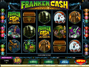 Franken Cash Slot Machine