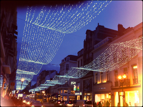 Brussels Christmas lights by *elvps